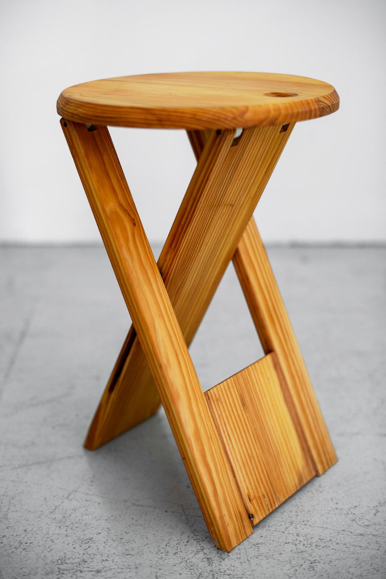 Late 20th Century Roger Tallon Stool For Sale