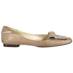 Roger Vivier Woman Ballet flats Beige Leather IT 37