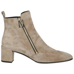 Roger Vivier  Women   Ankle boots  Brown Leather EU 38.5