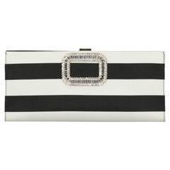 Roger Vivier  Women   Handbags   Black, White Fabric