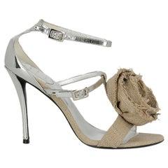 Roger Vivier  Women   Sandals  Beige Fabric EU 37.5