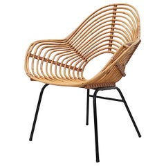 Rohe Noordwolde Onion Skin Patterened Bamboo Hoop Chair