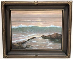Evening Gold (Breaking Waves)