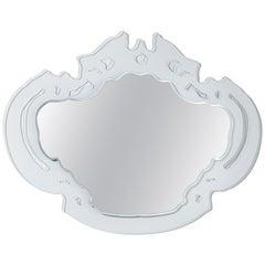 Rokokó Large Mirrors, by Nanda Vigo for Glas Italia