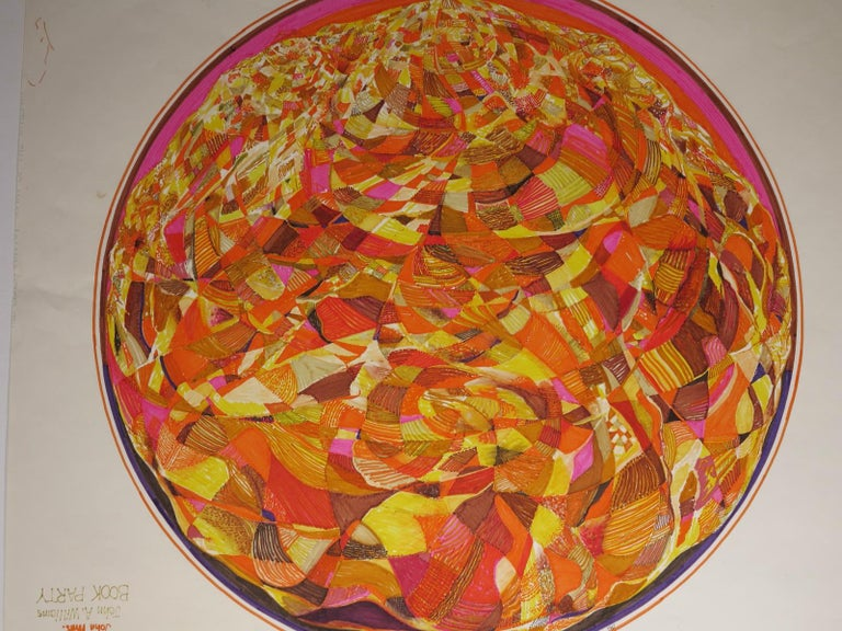 3rd Mandala  - Painting by Roland Ayers