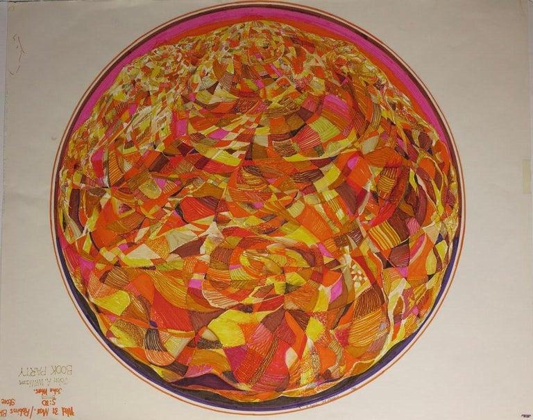Roland Ayers Abstract Painting - 3rd Mandala