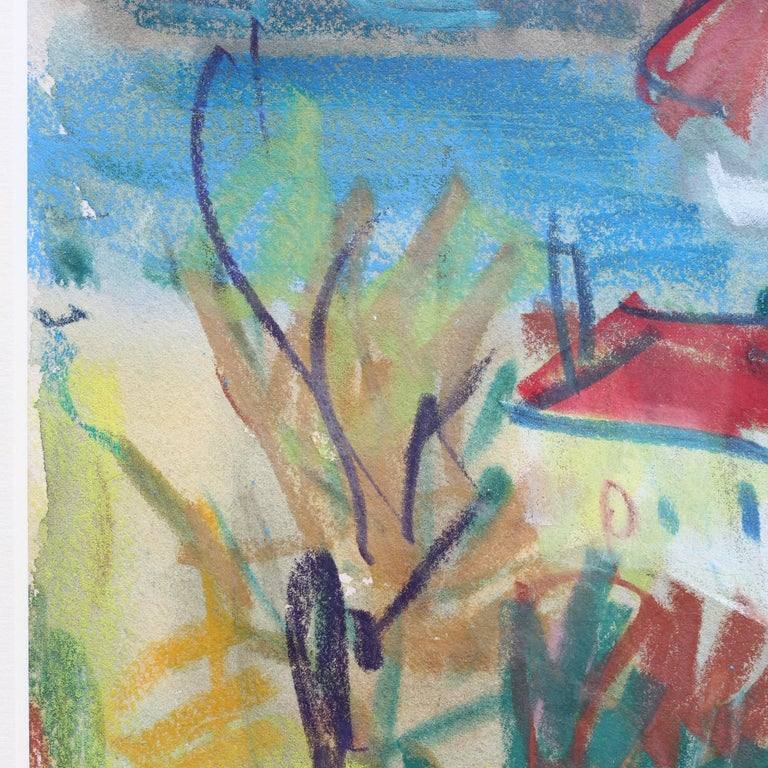 French Riviera Scene II For Sale 3