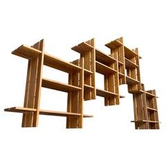 Roland Haeusler a Set of 4 Elm Shelves