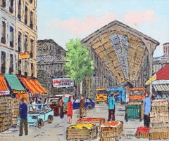 'Les Halles Food Market' by Roland Hamon (circa 1960s)