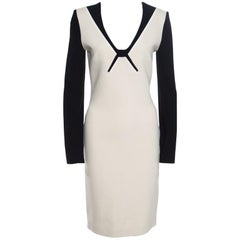 Roland Mouret Colorblock Knit Long Sleeve Kutim Dress M