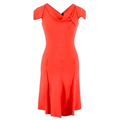 Roland Mouret Coral Zip-up Mini Dress US 2