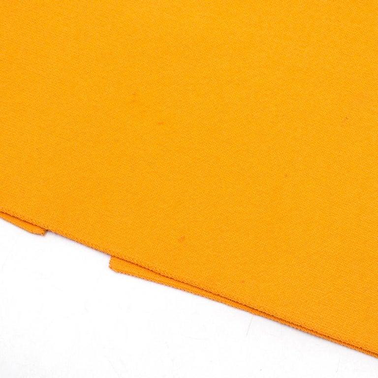 Roland Mouret Orange Bodycon Dress - Size US 4 For Sale 4