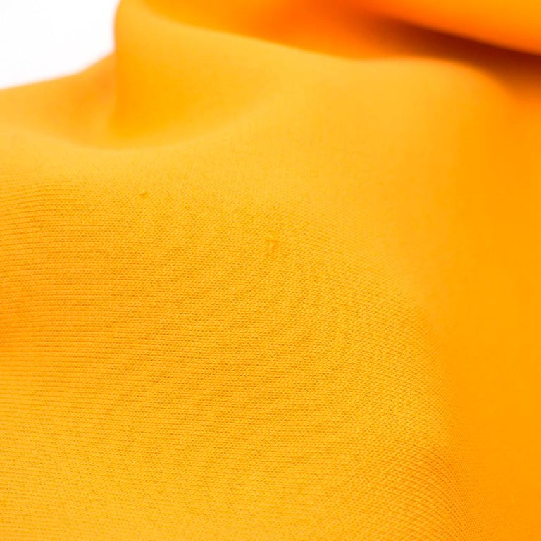Roland Mouret Orange Bodycon Dress - Size US 4 For Sale 5