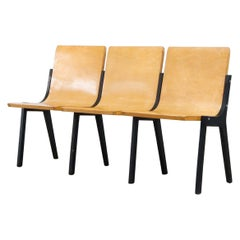 Roland Rainer 3 Seater Bench from a Dutch Church