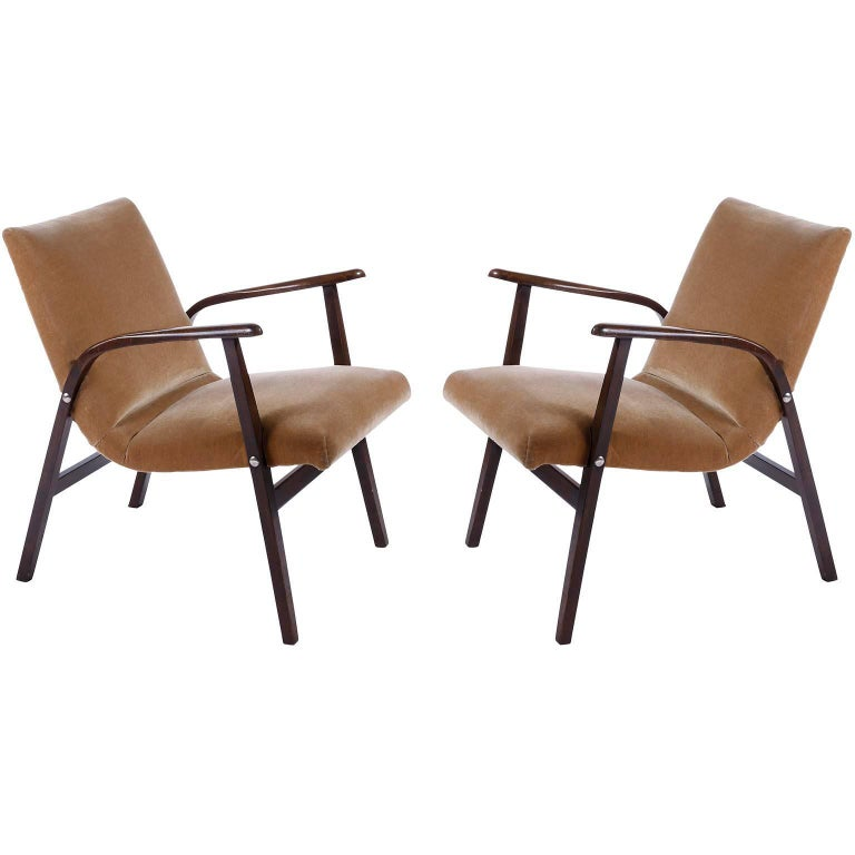 Roland Rainer, Set of 12 Armchairs Stacking Chairs, 1951 For Sale 7