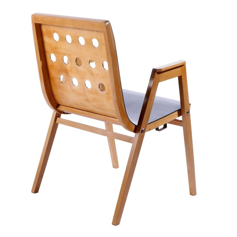 Roland Rainer, Set of 12 Armchairs Stacking Chairs, 1951 For Sale 2