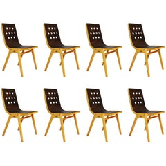 Roland Rainer, Set of Ten Stacking Chairs, 1951