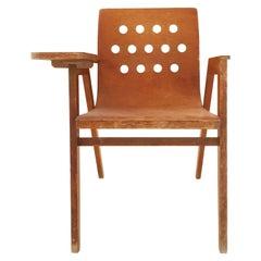 """Roland Rainer Writing Desk Chair """"Stadthallensessel"""", Austria, 1950s"""