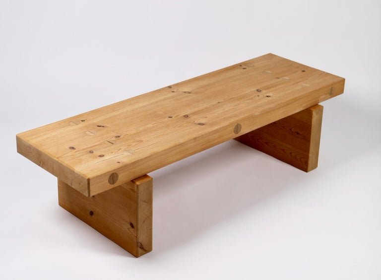 Roland Wilhelmsson, Coffee Table in Pine by Karl Andersson & Söner, Sweden, 1970 For Sale 5