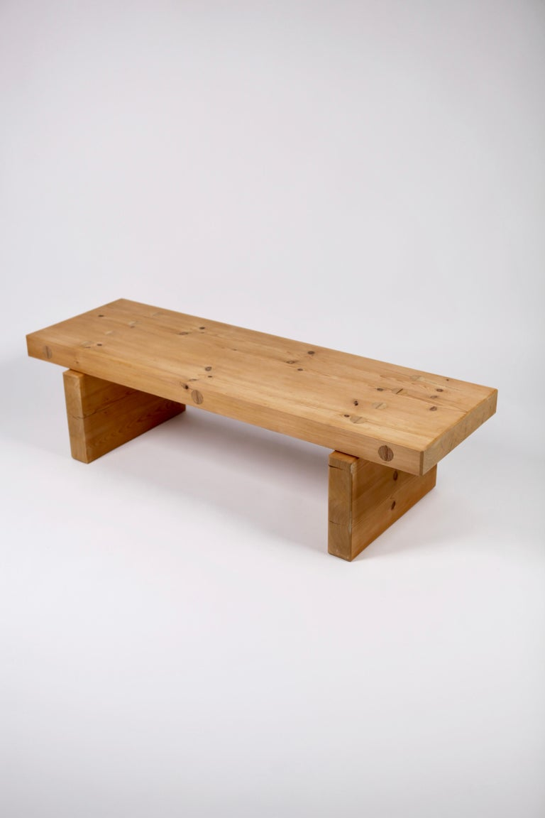 Swedish Roland Wilhelmsson, Coffee Table in Pine by Karl Andersson & Söner, Sweden, 1970 For Sale