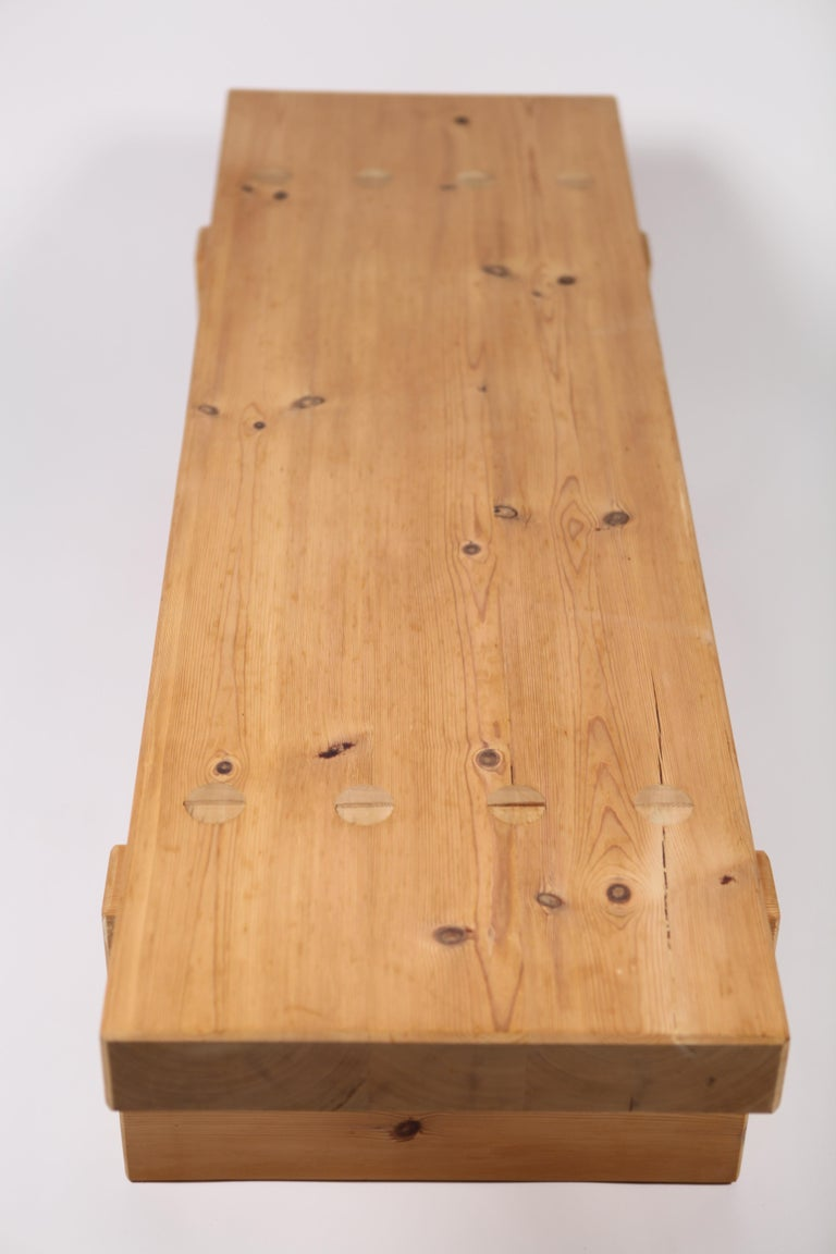Late 20th Century Roland Wilhelmsson, Coffee Table in Pine by Karl Andersson & Söner, Sweden, 1970 For Sale