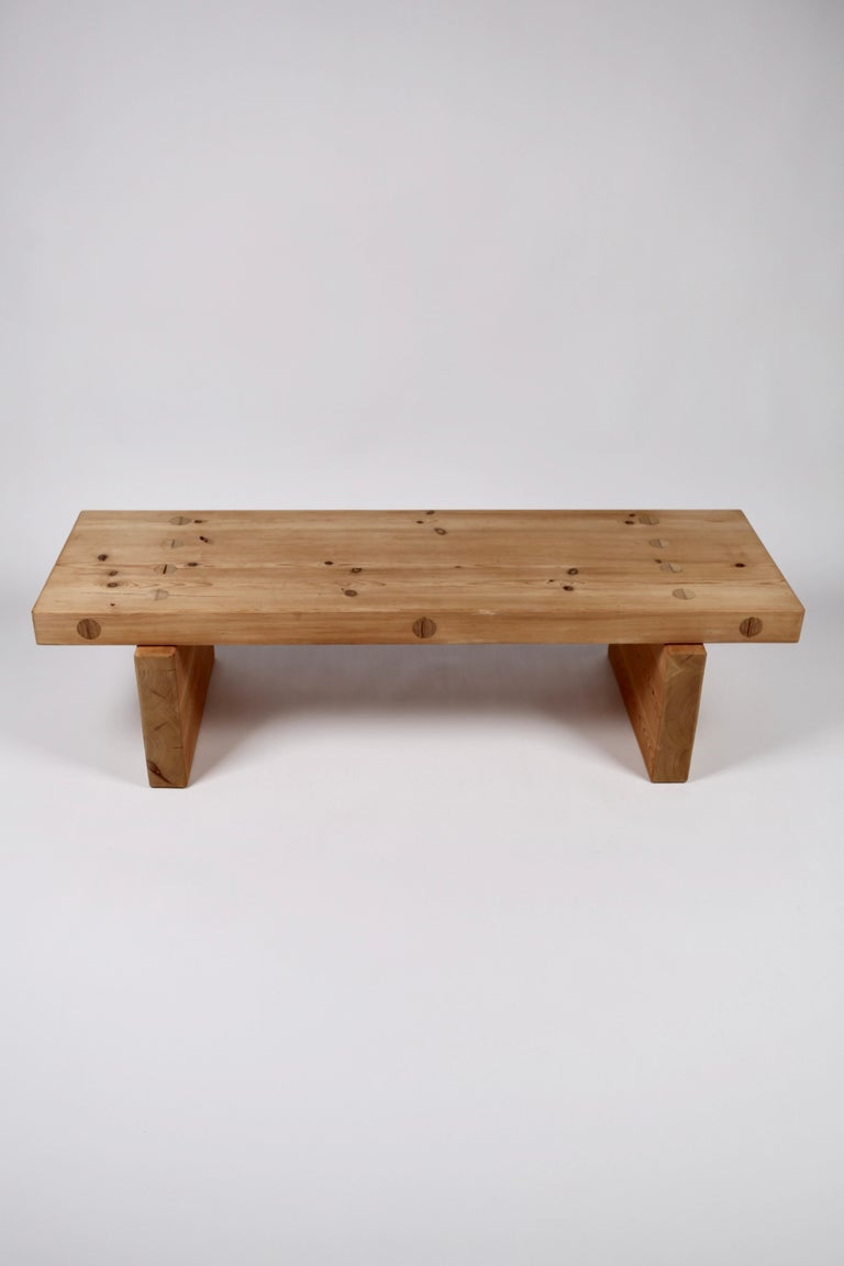 Roland Wilhelmsson, Coffee Table in Pine by Karl Andersson & Söner, Sweden, 1970 For Sale 2