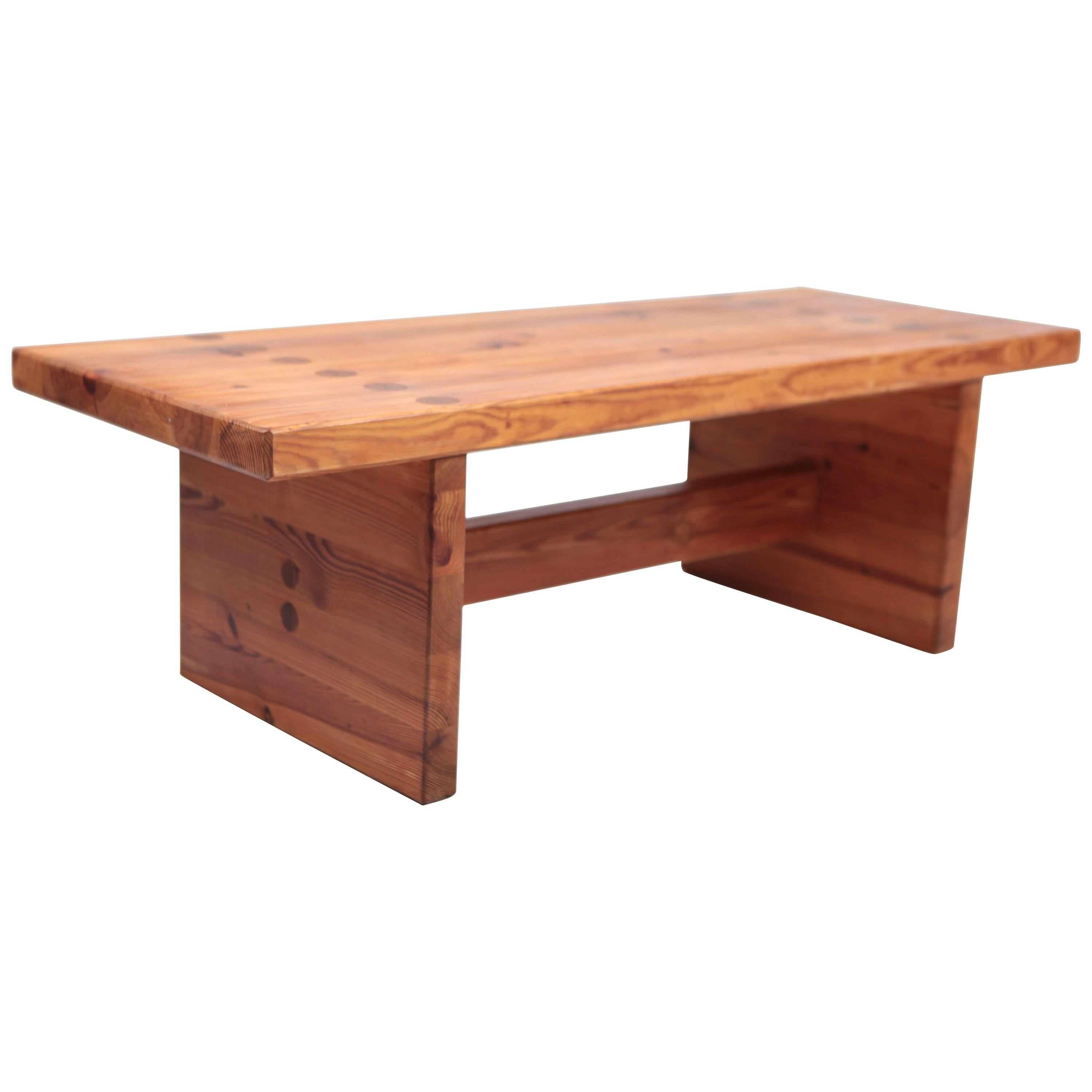 Roland Wilhelmsson, Coffee Table in Pine by Karl Andersson & Söner, Sweden, 1970