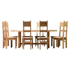 Roland Wilhelmsson Oregon Pine Dining Set
