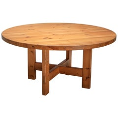 Roland Wilhelmsson Solid Pine Dining Table for Karl Anderson & Söner, Sweden