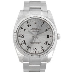 Rolex 114234 Air King Silver Dial Watch