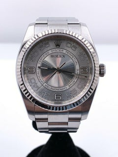 Rolex 116034 Oyster Perpetual Concentric Dial Stainless Steel Box Booklets