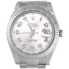 Rolex 116334 Datejust II Stainless Steel Silver Dial Watch
