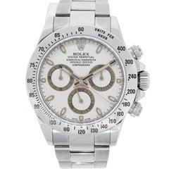 Rolex Stainless Steel Daytona Automatic Wristwatch Ref 116520