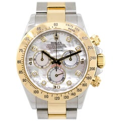 Rolex 116523 Daytona Two-Tone with Mother of Pearl Dial Watch
