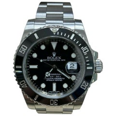 Rolex 116610 Black Ceramic Submariner Stainless Steel