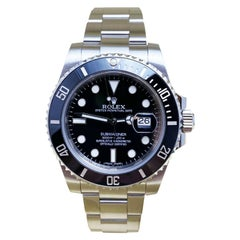 Rolex 116610 Submariner Black Ceramic Bezel Stainless Steel Box Papers, 2014