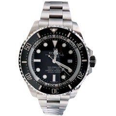 Rolex 116660 Deepsea Sea Dweller Stainless Steel Box and Paper