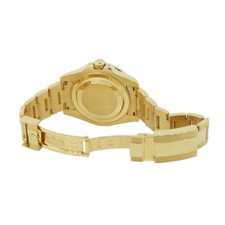 Rolex 116758SANR GMT Master II Wristwatch In Excellent Condition In Boca Raton, FL