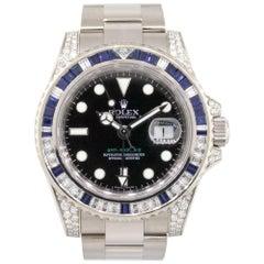 Rolex 116759SA 18 Karat White Gold GMT-Master II Watch