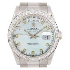 Rolex 118206 Day Date Wristwatch