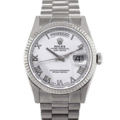 Rolex 118239 White Dial Day Date Presidential Automatic Wristwatch