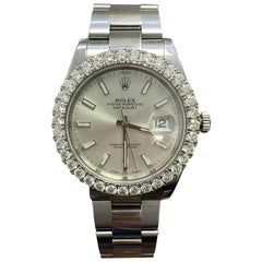 Rolex 126300 Stainless Steel Datejust with Diamond Dial