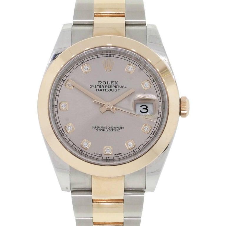 Rolex 126301 Datejust II Two-Tone Diamond Dial Wristwatch