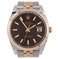 Rolex 126331 Datejust Chocolate Wristwatch