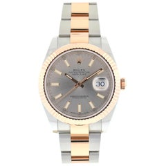 Rolex 126331 Datejust II 41 Two-Tone Rose Gold Stainless Steel Men's Watch