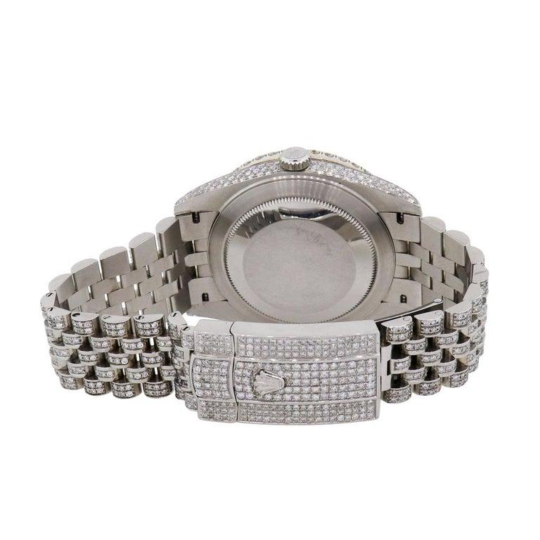 Round Cut Rolex 126334 Datejust Wristwatch