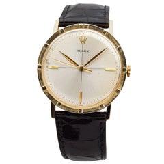 Rolex 14 Karat Yellow Gold Watch, 1954