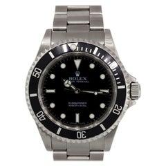 Rolex 14060 Submariner Non Date Wristwatch
