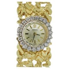 Rolex 14 Karat Vintage Ladies Watch