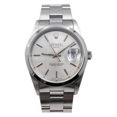 Rolex 15200 Date Silver Dial Stainless Steel Excellent Condition